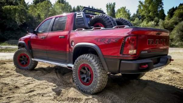 Ram 1500 Hellcat rear