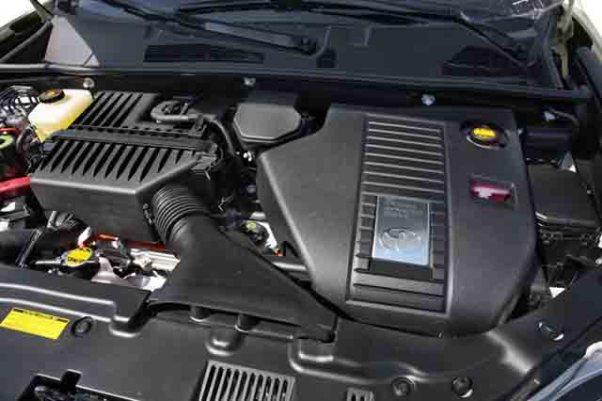Toyota Tacoma Hybrid drivetrain