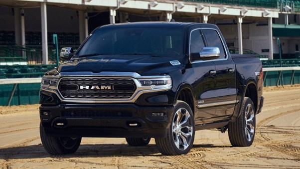 2019 Ram 1500 Kentucky Derby Edition front