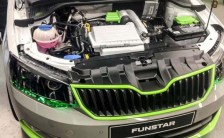 Skoda Pickup Truck Concept engine