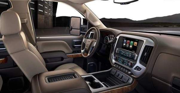 2019 GMC Sierra 2500HD interior
