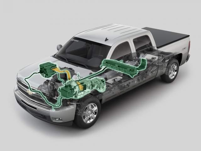 2019 Chevy Silverado 1500 Hybrid Truck Concept - 2019 and ...