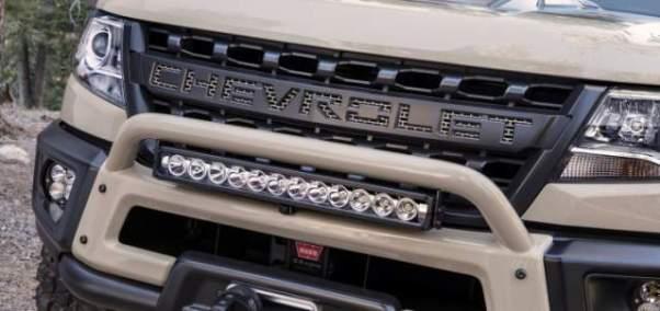 2020 Chevy Colorado facelift
