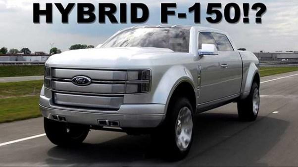 2020 Ford F-150 Raptor hybrid concept