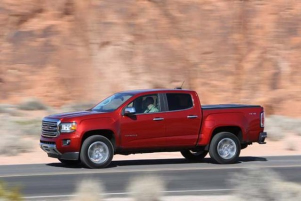 2020 GMC Canyon Denali redesign
