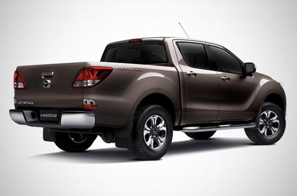 2020 Mazda BT-50 redesign