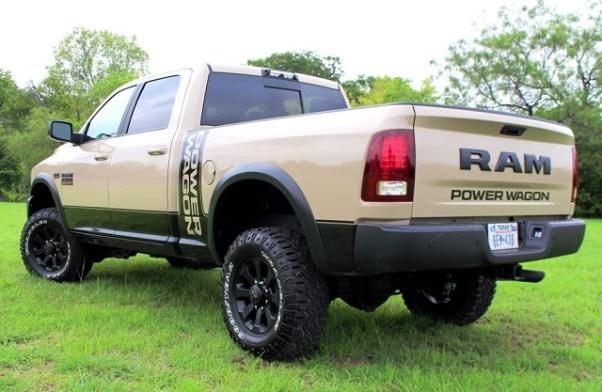 2019 Dodge Ram Power Wagon release date