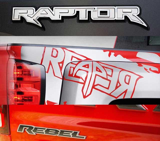 ford raptor  chevy reaper  ram rebel    pickup trucks