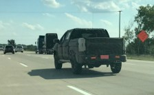 2020 Chevy Silverado 1500 spy photos