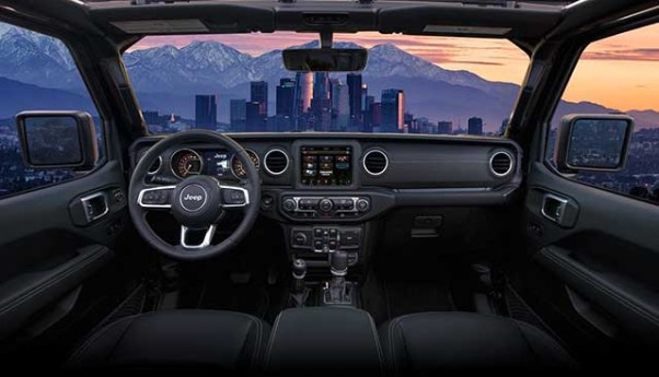 2020 Jeep Gladiator Launch Edition interior