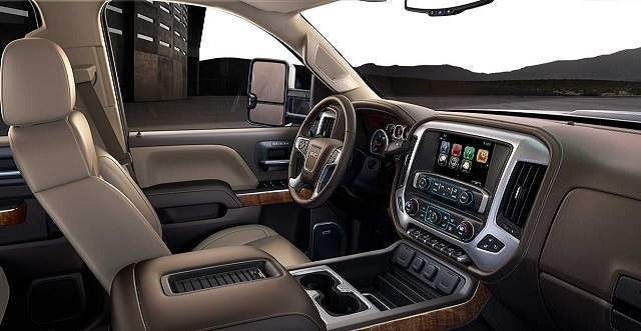 2020 Sierra HD Denali interior