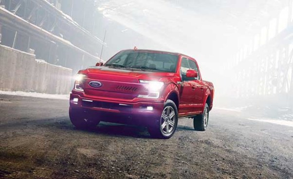 2021 Ford F-150 Full-Electric Pickup Truck concept