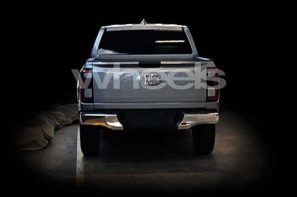 2021 Ford Ranger rear