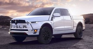 2020 Tesla Electric Pickup Truck model t