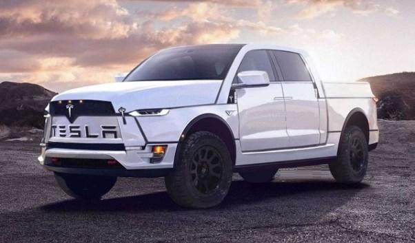 2020 Tesla Electric Pickup Truck model t