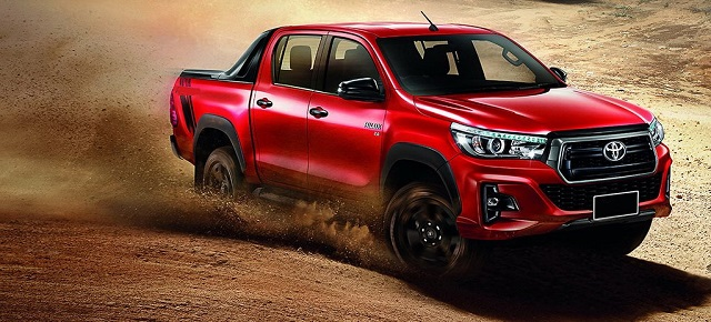 2020 toyota hilux: the best and safest pickup truck