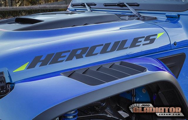 2021 Jeep Gladiator Hercules specs