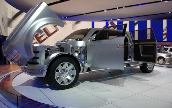 Ford F-250 Super Chief 2006 Concept production