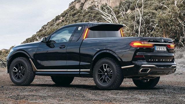 2020 BMW Pickup Truck new renders