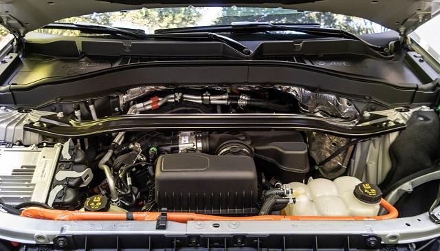 2021 Ford Ranger V6 hybrid