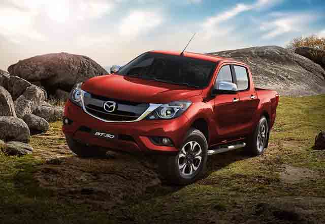 2021 Mazda BT-50 changes