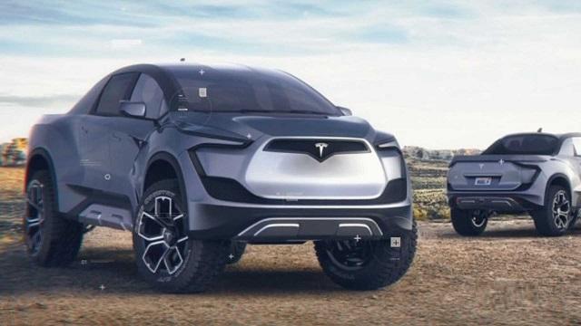 2021 Tesla Pickup Truck Model P