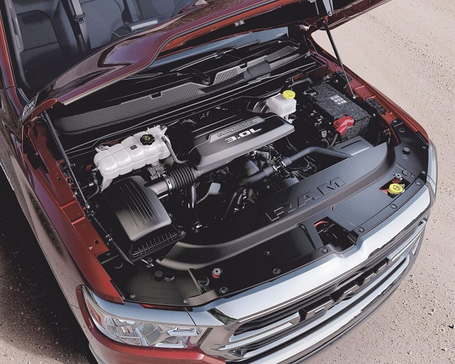 2021 Ram 1500 Diesel engine