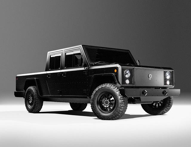2022 Hummer pickup truck EV