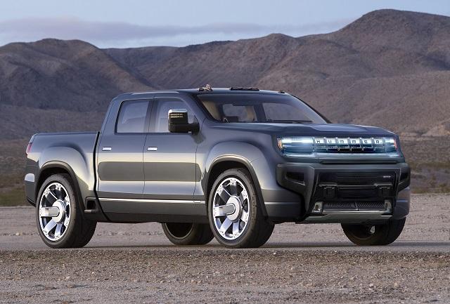 2022 Hummer pickup truck concept