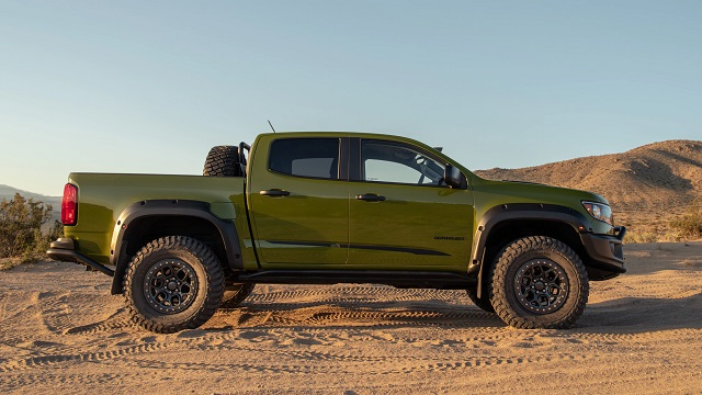 2021 Chevy Colorado ZR2 Bison price