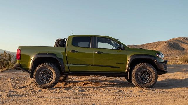 2021 Chevy Colorado ZR2 Bison price