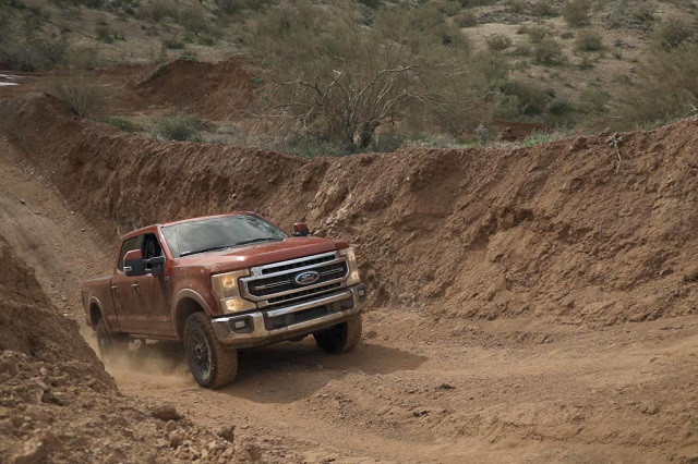 2021 Ford F-350 Super Duty towing capacity