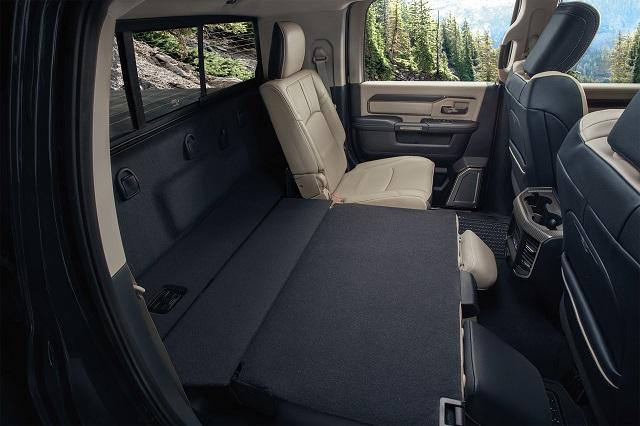 2021 Ram 3500 Mega Cab interior