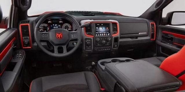New 2021 Dodge Rampage interior