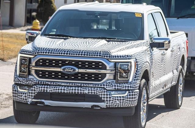 new 2021 Ford F-150 Hybrid