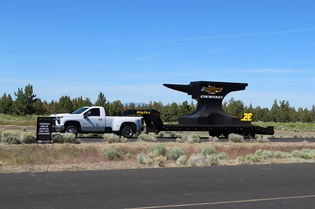 2021 Silverado Dually Truck towing capacity