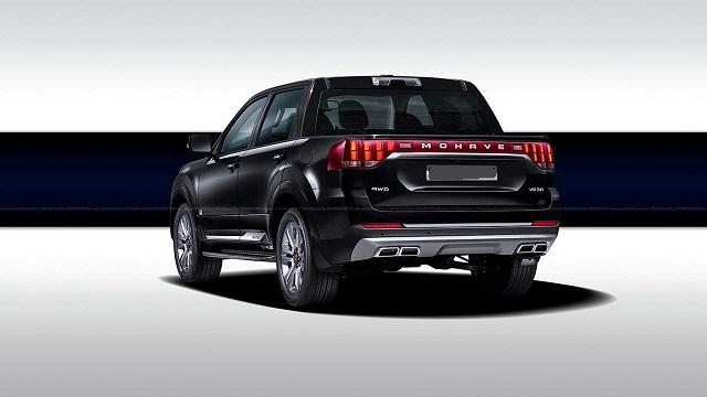 2022 Kia Mohave truck concept