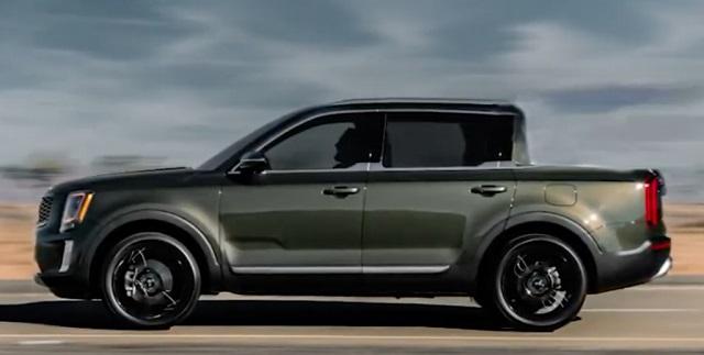 2022 Kia Telluride Pickup Truck
