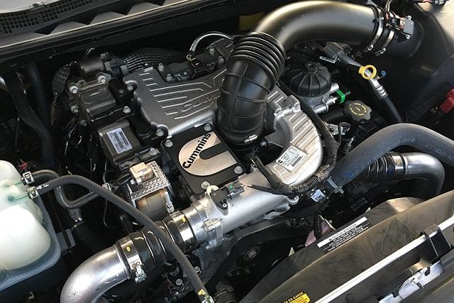 2022 Nissan Titan XD diesel