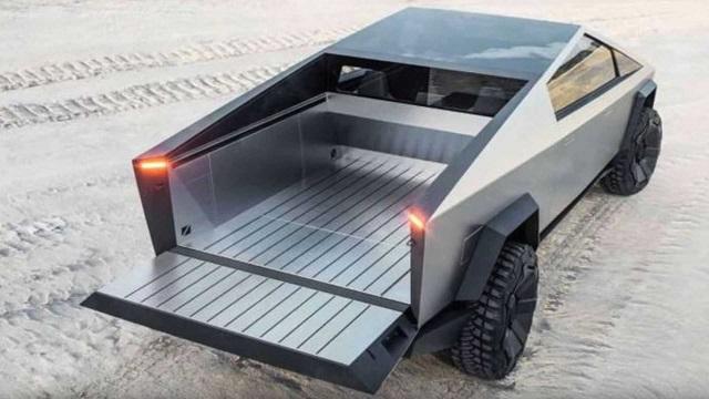 2022 Tesla Cybertruck bed