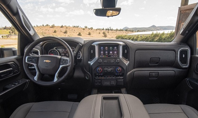 2022 Chevy Silverado 2500 interior
