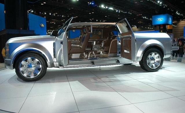 2022 Ford Super Chief interior