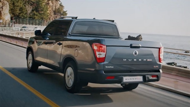 2022 SsangYong Musso release date