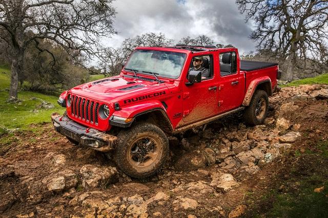 2022 Jeep Gladiator Rubicon off road