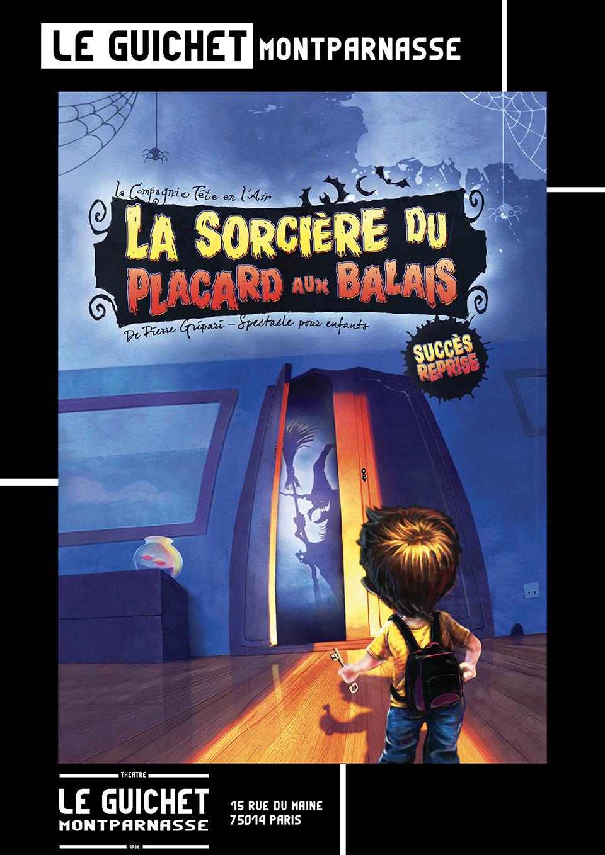 La Sorcière Du Placard Aux Balais : sorcière, placard, balais, Sorcière, Placard, Balais, Guichet, Montparnasse
