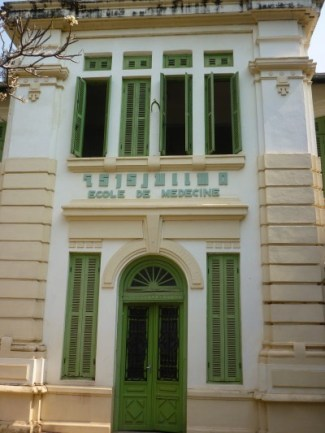 Remnants of the French influence can be seen in architecture.