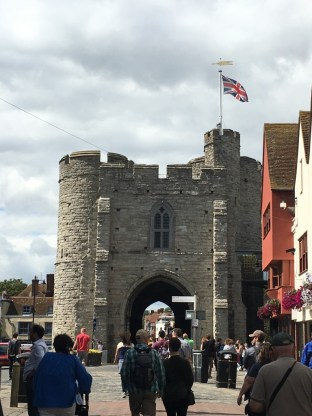 Westgate Towers, the largest surviving city gate in England