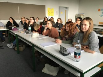 Participants of the Global English class