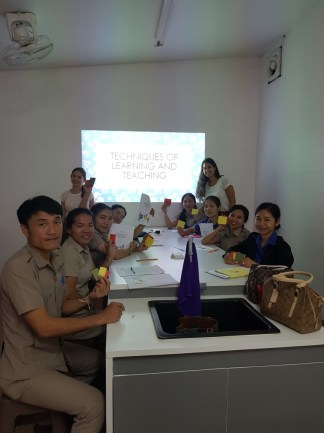 """English and """"Non-English"""" teachers from Ban Phang Heng Primary and Secondary School"""