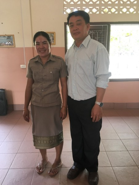 Ms Bounpheng, the interpreter of the interview, and Mr Sai